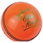 Dukes Club Match A Cricket Ball 5.5oz Orange