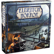 Eldritch Horror: Masks of Nyarlathotep Expansion