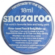 Snazaroo Make-Up 18ml Body & Face Paint Classic Sky Blue