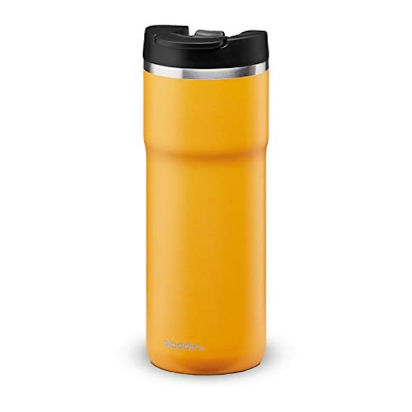 Aladdin Java Thermavac Leak-Lock Stainless Steel Mug 0.47L Sun Yellow