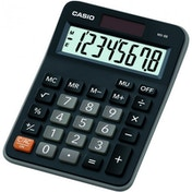Casio MX8B-BK Desk Calculator 8 Digit Display Black