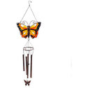 Yellow Butterfly Windchime Pack Of 6