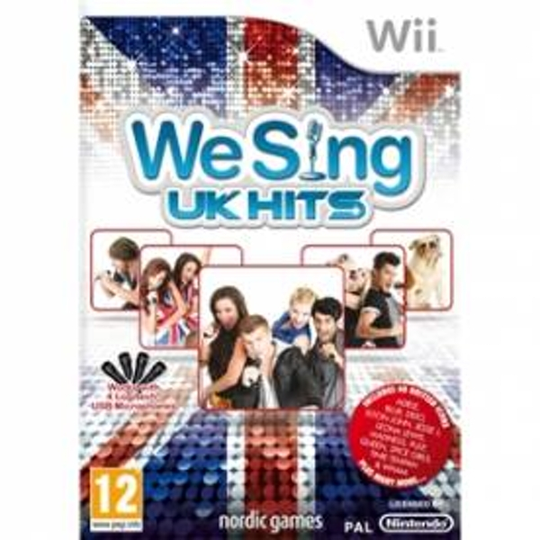 We Sing UK Hits Solus Game Wii