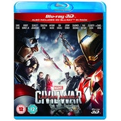 Captain America - Civil War 2016 Blu-ray