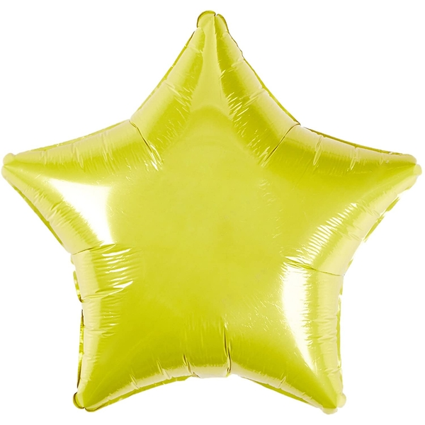 Foil Star Balloon Party Decoration (Yellow)