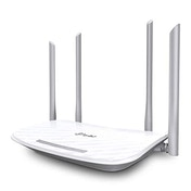 TP-LINK (Archer A5 V4), AC1200 (867 300) Wireless Dual Band 10/100 Cable Router, 4-Port, Access Point Mode UK Plug