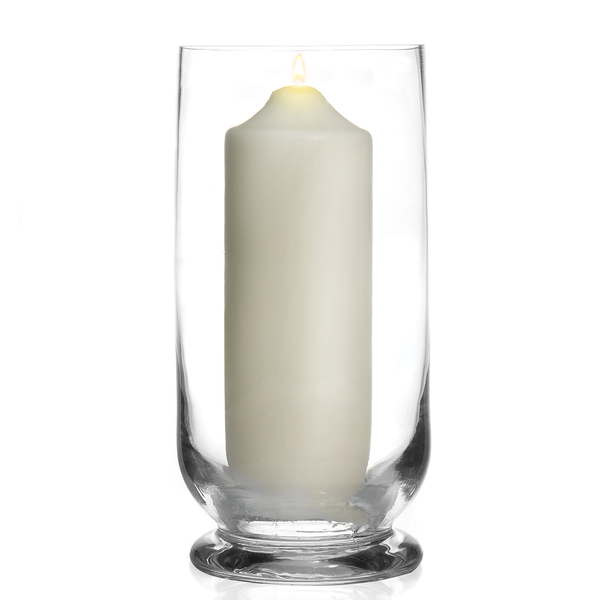 Tall Glass Storm Lantern Candle Holder | M&W - Image 1