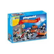 Playmobil Advent Calendar Fire Rescue Operation with Card Game