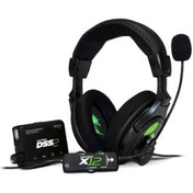 Turtle Beach Ear Force DX12 with DSS 2 Processor Earphone Bundle Xbox 360