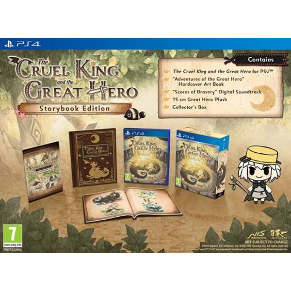 The Cruel King And The Great Hero PS4 Game
