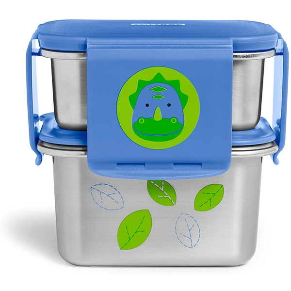 Skip-Hop Stainless Steel Dino Lunch Kit