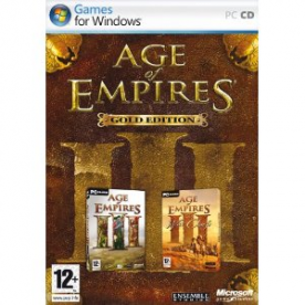 Age Of Empires III Gold Edition Game PC
