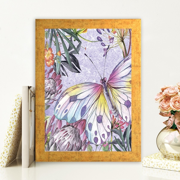 AC184028402 Multicolor Decorative Framed MDF Painting