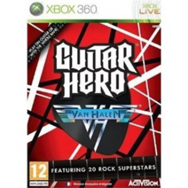 Guitar Hero Van Halen Solus Game Xbox 360