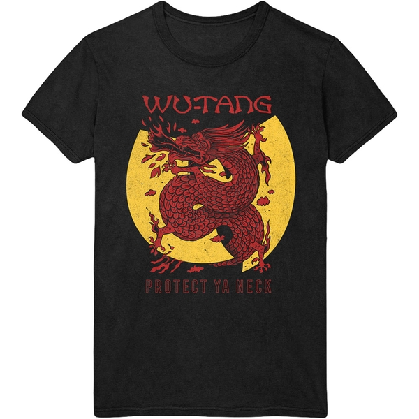 Image of Wu-Tang Clan - Inferno Unisex Small T-Shirt - Black