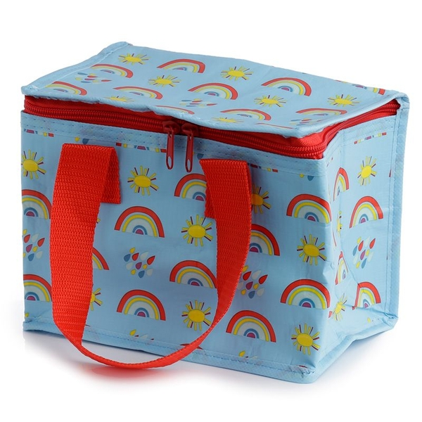 Recycled Plastic Bottle RPET Cool Bag Lunch Box - Rainbow