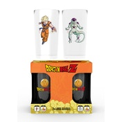 Dragon Ball Z Goku Vs Frieza Twin Large Glasses
