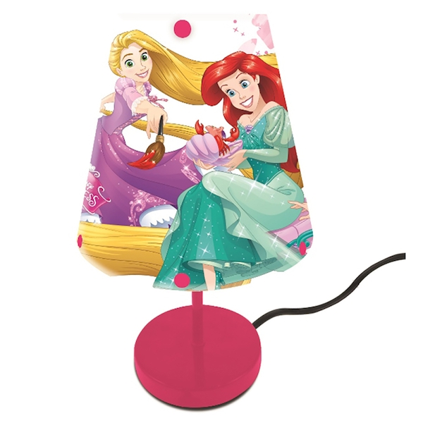 Lexibook LT010DP Disney Princess Bedside Lamp UK Plug