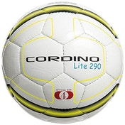 Precision Cordino Lite Match Football 290g White/Fluo Yellow/Black Size 4