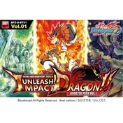 Buddyfight TCG Unleash! Impact Dragon!! Boosters - 30 Packs