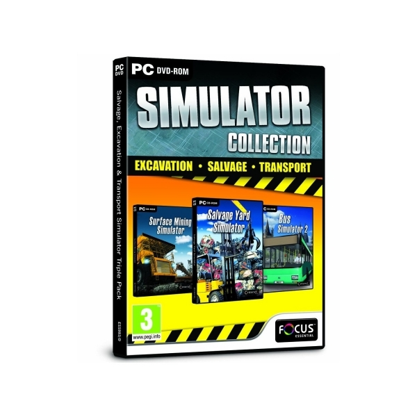 Salvage, Excavation and Transport Simulator Triple Pack Game PC