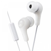 Gumy Plus In Ear Headphones with Mic & Remote White