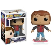 Marty McFly on Hoverboard (Back to the Future) Funko Pop! Vinyl Figure