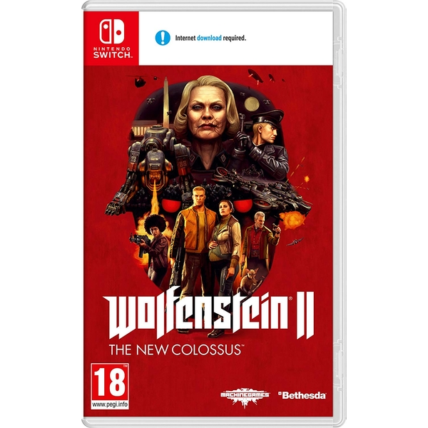 Wolfenstein II The New Colossus Nintendo Switch Game