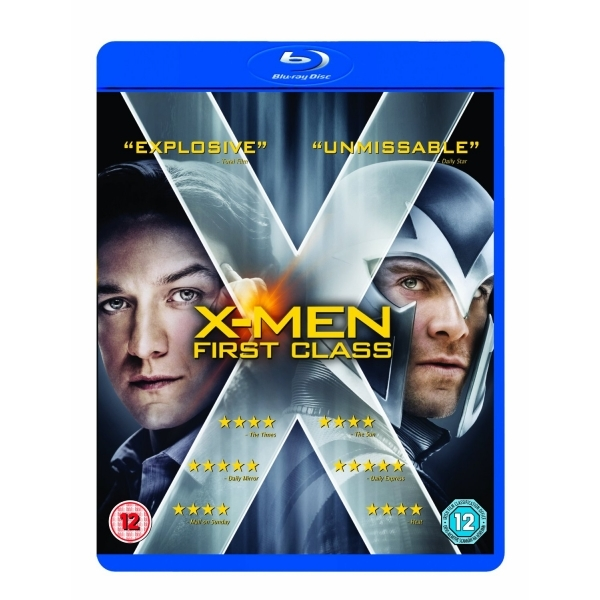 X-Men First Class Blu-Ray
