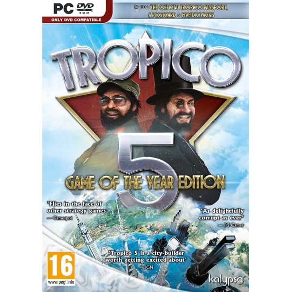 Tropico 5 Game Of The Year Edition PC (GOTY)