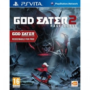 God Eater 2 Rage Burst PS Vita Game (Includes God Eater Resurrection)