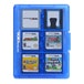 Hori Officially Licensed 24 Game Card Case Blue 3DS/DSi/DSL - Image 2