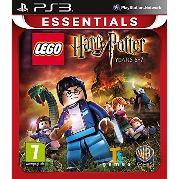 Lego Harry Potter Years 5-7 Game PS3 (Essentials)