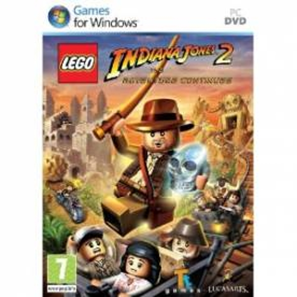 Lego Indiana Jones 2 The Adventure Continues Game PC