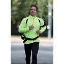 Precision L/S (Turtle) Running Shirt Adult Fluo Yellow/Black - Large
