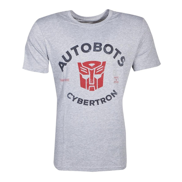 Hasbro - Transformers Autobots Cybertron Men's Large T-Shirt - Grey