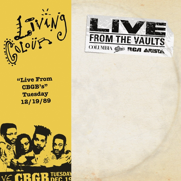 Living Colour - Live From Cbgbs Vinyl