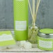 Lime, Basil & Mandarin (Polka Dot Collection) Tin Candle - Image 3