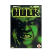 The Death Of Incrediable Hulk DVD