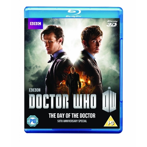 Doctor Who The Day Of The Doctor 50th Anniversary 3D Blu-ray