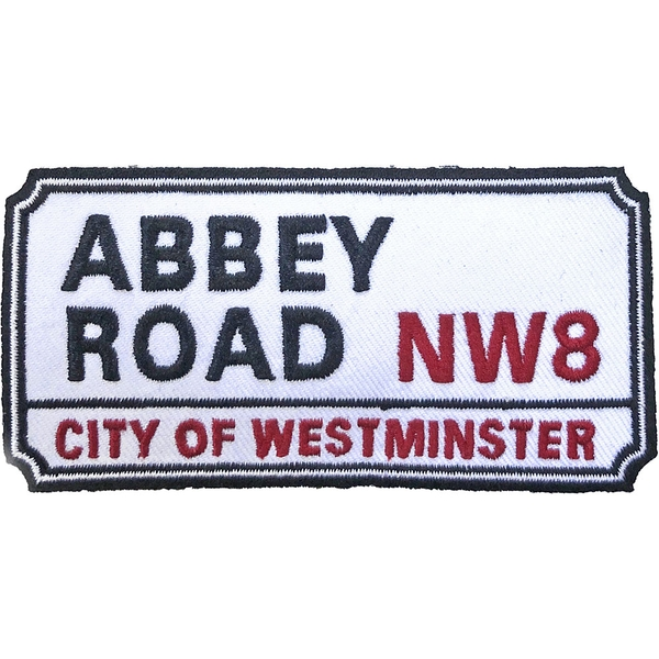 Road Sign - Abbey Road, NW London Sign Standard Patch