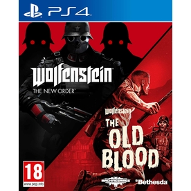 Wolfenstein The New Order & The Old Blood Double Pack PS4 Game