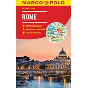 Rome Marco Polo City Map - pocket size, easy fold, Rome street map by Marco Polo (Paperback, 2018)