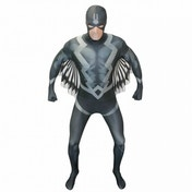 Morphsuit Black Bolt X-Large Black