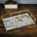 Gold Mirrored Tray | M&W - Image 2