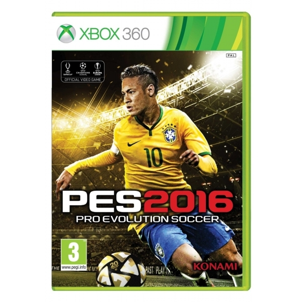Pro Evolution Soccer 2016 Day One Edition Xbox 360 Game