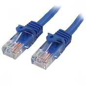 StarTech 10m Blue Snagless Cat5e Patch Cable