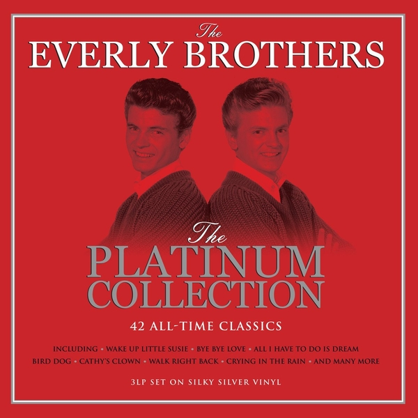 Everly Brothers - Platinum Collection Silver  Vinyl