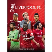 Liverpool Official 2019 Calendar - A3 Wall Calendar