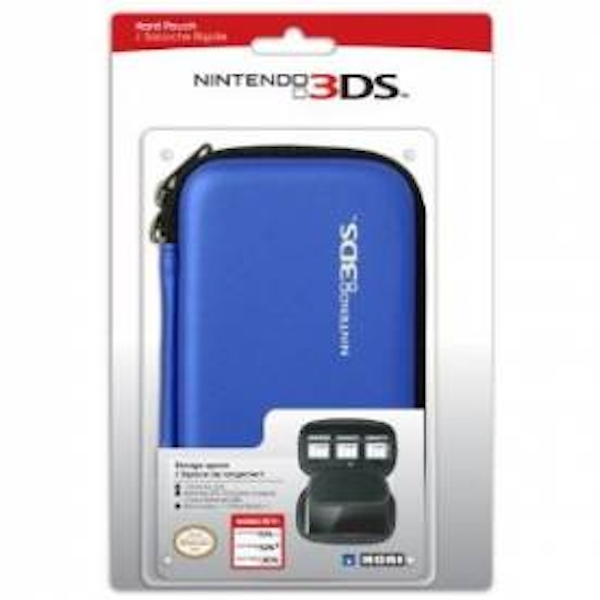 Hori Officially Licensed Hard Pouch Case Blue 3DS/DSi/DSL - Image 2